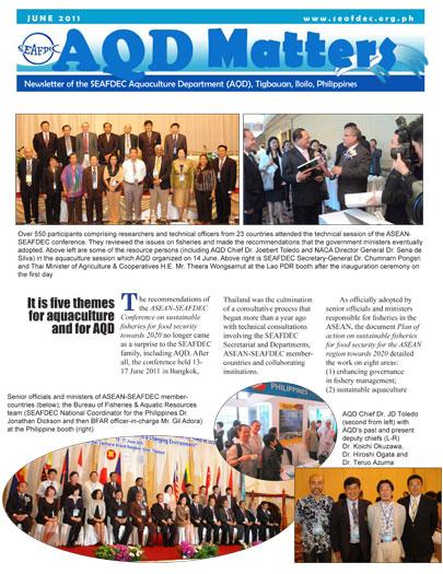 AQD Matters June 2011