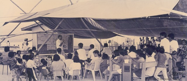 Dr. Flores assured the community of AQD's sustained support in the implementation of the Community Fishery Resource Management project at Malalison Island, Culasi, Antique