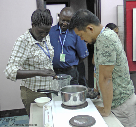 A practical session on agar extraction