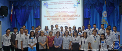 Some of the participants with the resource persons