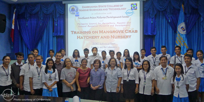 mud crab training in zambo_featured image