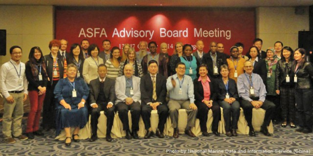 Mr. Superio (top picture, leftmost) together with the representatives of ASFA board members and partners