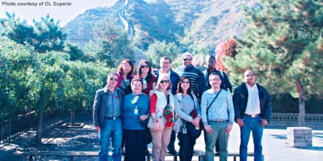 ASFA participants visit the Great Wall of China