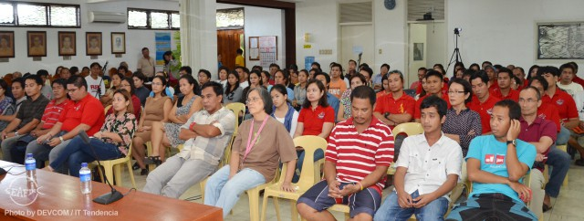 AQD employees during the general assembly meeting