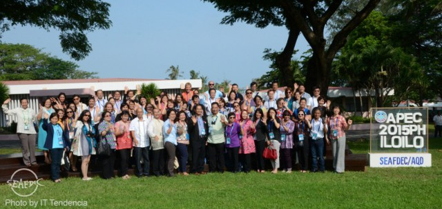 The Agricultural Technical Cooperation Working Group of APEC 2015 at the SEAFDEC/AQD grounds
