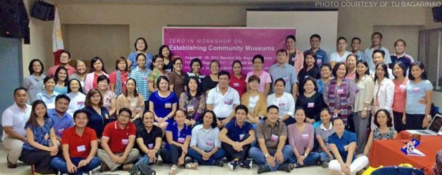 Participants of the Zero In Workshop on Establishing Community Museums in Bacolod City