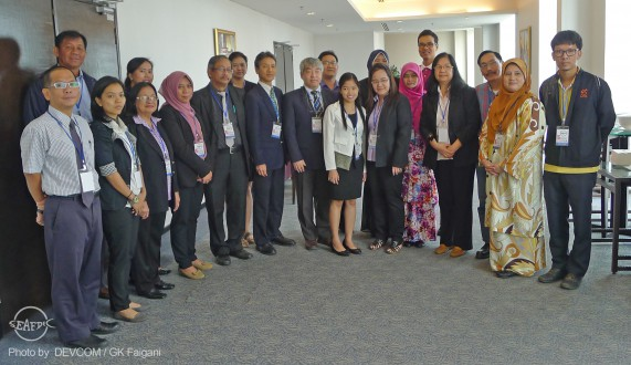 The participants of the 16th ISP meeting in Malaysia