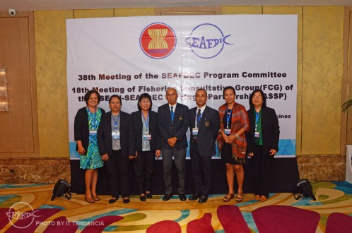 AQD participants of the 38th SEAFDEC Program Committee Meeting