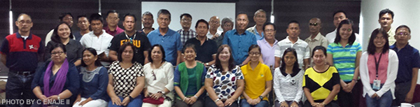 "Participants and resource speakers of the ""Workshop on Climate Resilient Aquaculture Operation"""