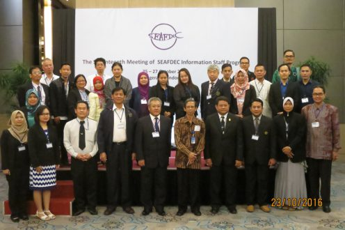 Participants to the 17th ISP meeting (Photo by SEAFDEC Secretariat)