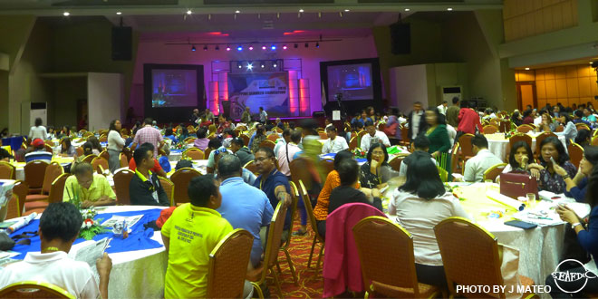 Members of the seaweed industry gather in Cebu City for the Philippine Seaweed Convention 2016