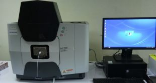 Atomic absorption spectrophotometer at SEAFDEC/AQD